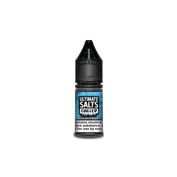 10MG Ultimate Puff Salts Chilled 10ML Flavoured Nic Salts (50VG/50PG) E-liquids 5
