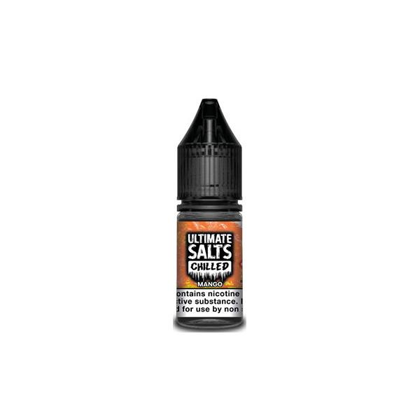 10MG Ultimate Puff Salts Chilled 10ML Flavoured Nic Salts (50VG/50PG) E-liquids 4
