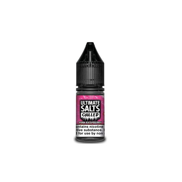 10MG Ultimate Puff Salts Chilled 10ML Flavoured Nic Salts (50VG/50PG) E-liquids 7