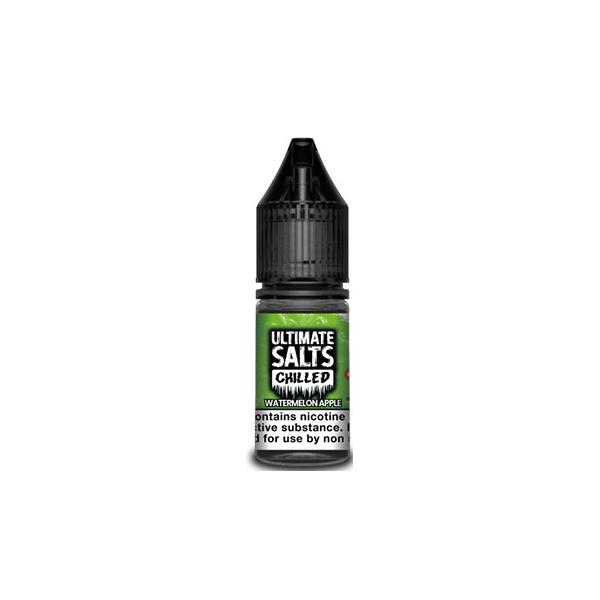 10MG Ultimate Puff Salts Chilled 10ML Flavoured Nic Salts (50VG/50PG) E-liquids 3