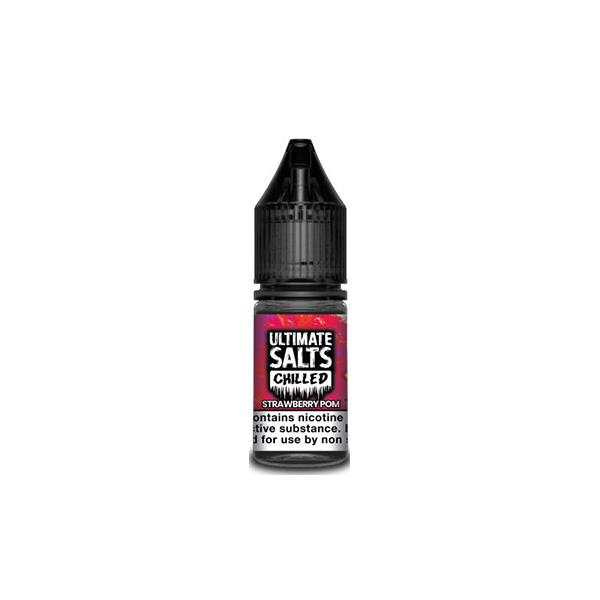 10MG Ultimate Puff Salts Chilled 10ML Flavoured Nic Salts (50VG/50PG) E-liquids 8