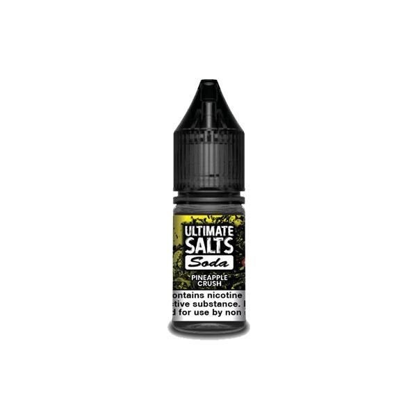 10MG Ultimate Puff Salts Soda 10ML Flavoured Nic Salts (50VG/50PG) Nic Shots & Salts 2