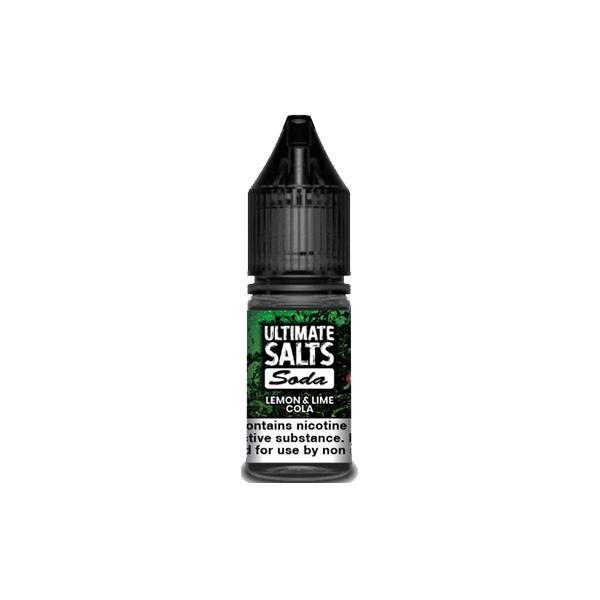 10MG Ultimate Puff Salts Soda 10ML Flavoured Nic Salts (50VG/50PG) Nic Shots & Salts 4