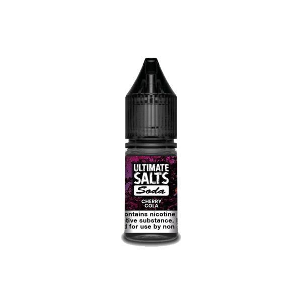 10MG Ultimate Puff Salts Soda 10ML Flavoured Nic Salts (50VG/50PG) Nic Shots & Salts 3