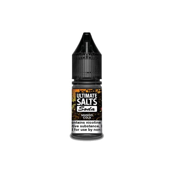 10MG Ultimate Puff Salts Soda 10ML Flavoured Nic Salts (50VG/50PG) Nic Shots & Salts 5