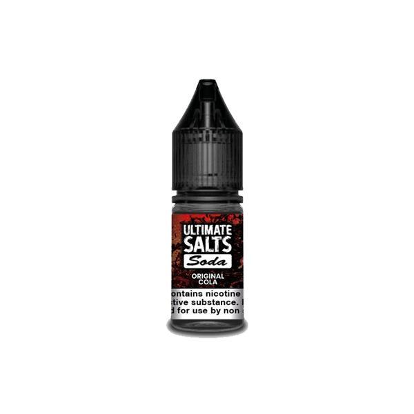 10MG Ultimate Puff Salts Soda 10ML Flavoured Nic Salts (50VG/50PG) Nic Shots & Salts 8
