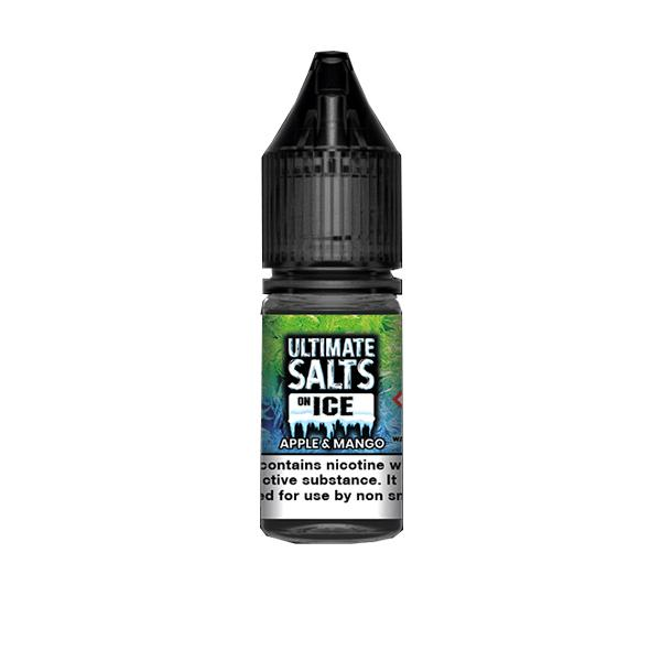 10mg Ultimate Puff Salts On Ice 10ml Flavoured Nic Salts (50VG/50PG) Vaping Products 5