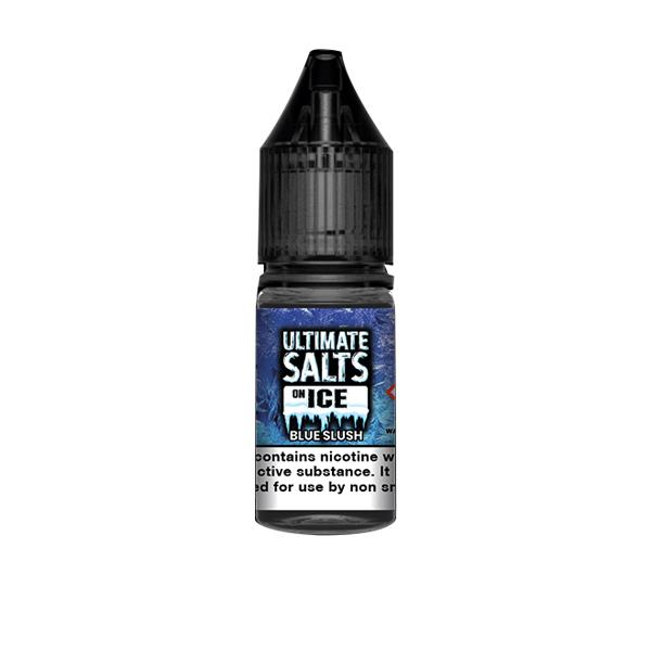 10mg Ultimate Puff Salts On Ice 10ml Flavoured Nic Salts (50VG/50PG) Vaping Products 7