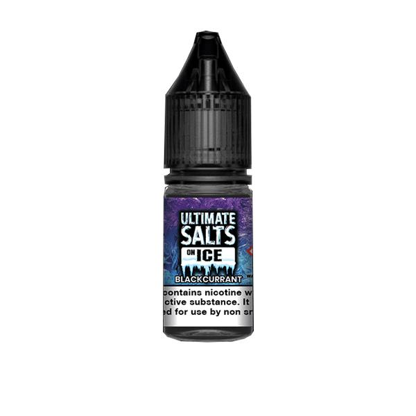 10mg Ultimate Puff Salts On Ice 10ml Flavoured Nic Salts (50VG/50PG) Vaping Products 2