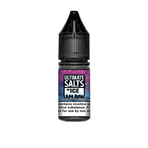 10mg Ultimate Puff Salts On Ice 10ml Flavoured Nic Salts (50VG/50PG) Vaping Products 4