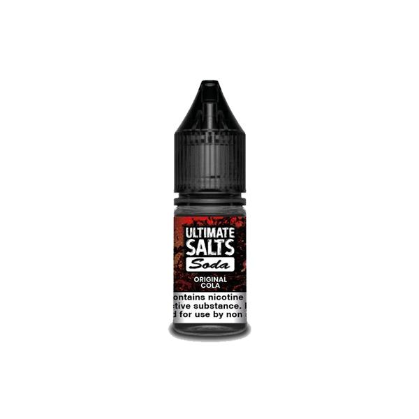 20MG Ultimate Puff Salts Soda 10ML Flavoured Nic Salts (50VG/50PG) Vaping Products 8