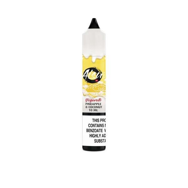 20mg AISU Yoguruto Nic Salts by ZAP Juice 10ml (50VG/50PG) Nic Shots & Salts 5