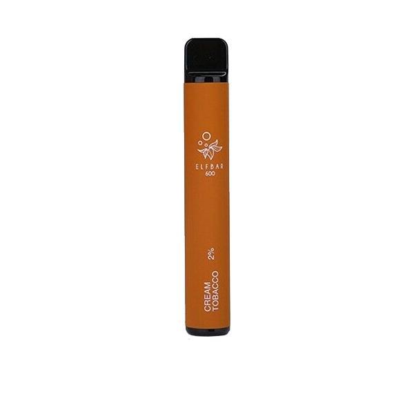 20mg ELF Bar Disposable Vape Pod 600 Puffs 3 for £10 - Disposable Vapes 5