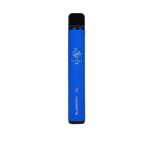 20mg ELF Bar Disposable Vape Pod 600 Puffs 3 for £10 - Disposable Vapes 9