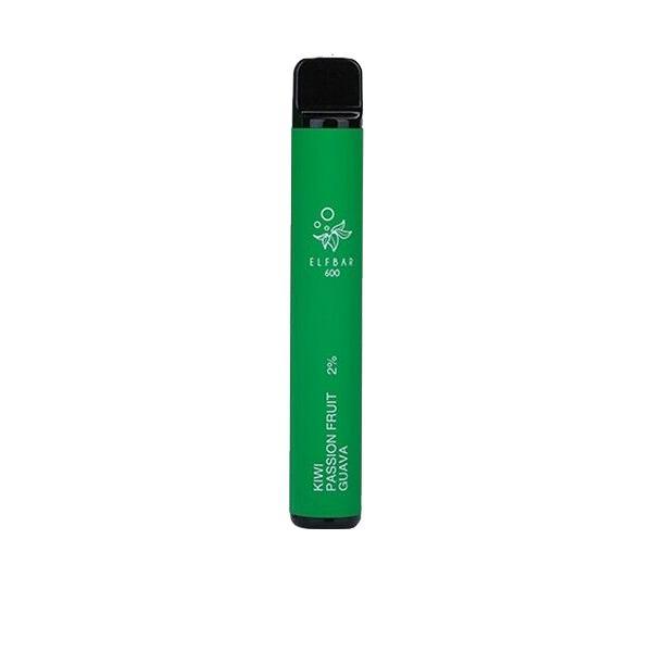 20mg ELF Bar Disposable Vape Pod 600 Puffs 3 for £10 - Disposable Vapes 13