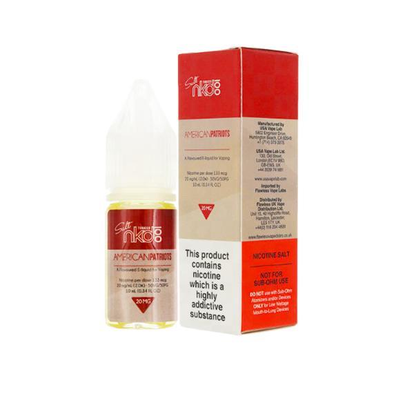 20mg Naked 100 10ml Nic Salts (50VG/50PG) Vaping Products 5