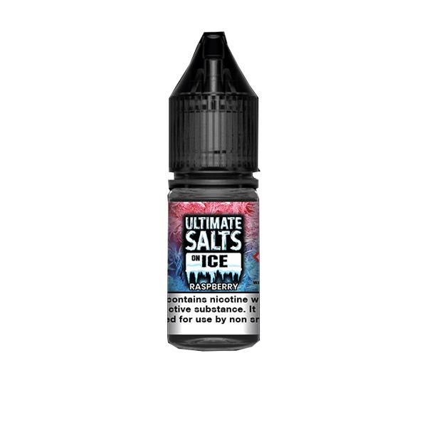 20mg Ultimate Puff Salts On Ice 10ml Flavoured Nic Salts (50VG/50PG) Vaping Products 6