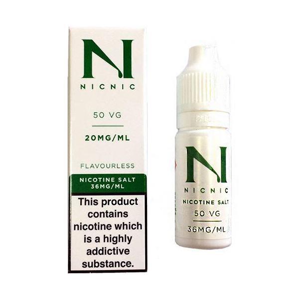 20mg Nic Salt 10ml by Nic Nic (50VG-50PG) Vaping Products 2