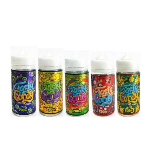"<a href=""https://wvvapes.co.uk/tasty-candy-200ml-shortfill-0mg-70vg-30pg"">Tasty Candy 200ml Shortfill 0mg (70VG/30PG)</a> 200ml Shortfills"