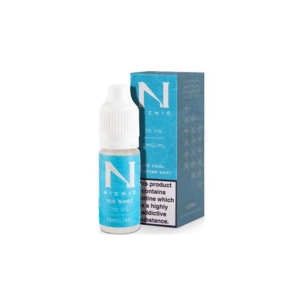 18mg Ice Cool Nic Shot 10ml by Nic Nic (70VG-30PG) Vaping Products 2