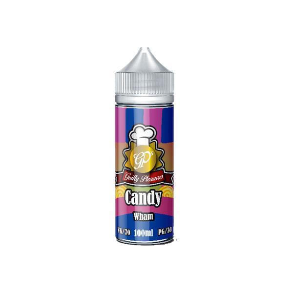 Guilty Pleasures Candy 0mg 100ml Shortfill (70VG/30PG) 100ml Shortfills 8