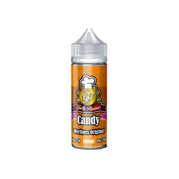 Guilty Pleasures Candy 0mg 100ml Shortfill (70VG/30PG) 100ml Shortfills 2