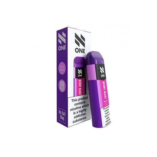 N One Disposable 20MG Nic Salt Vape Pod 3 for £10 - Disposable Vapes 12