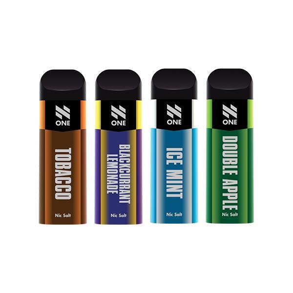 N One Disposable 20MG Nic Salt Vape Pod 3 for £10 - Disposable Vapes 8