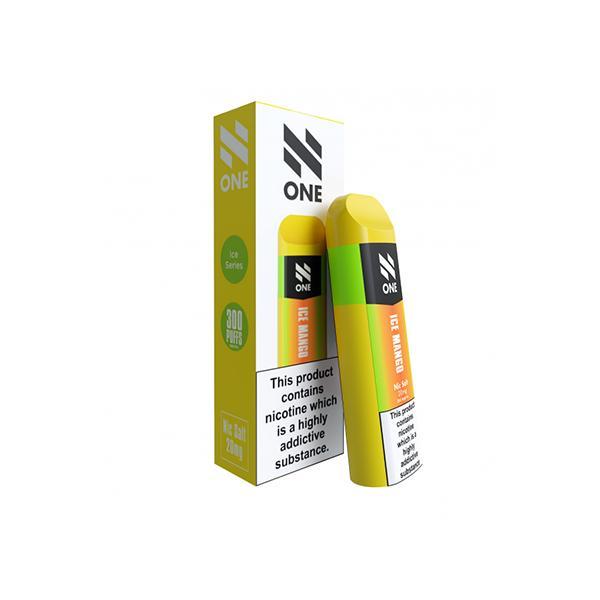 N One Disposable 20MG Nic Salt Vape Pod 3 for £10 - Disposable Vapes 14