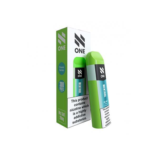 N One Disposable 20MG Nic Salt Vape Pod 3 for £10 - Disposable Vapes 11