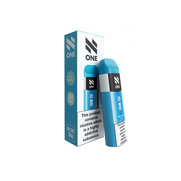 N One Disposable 20MG Nic Salt Vape Pod 3 for £10 - Disposable Vapes 10