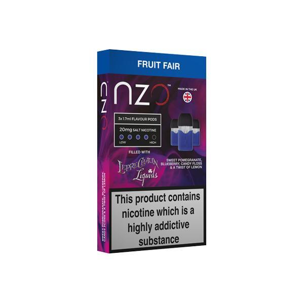 """<a href=""""https://wvvapes.co.uk/nzo-20mg-leprechaun-liquids-nic-salt-50vg-50pg"""">NZO 20mg Leprechaun Liquids Nic Salt (50VG/50PG)</a> Pod Kits"""
