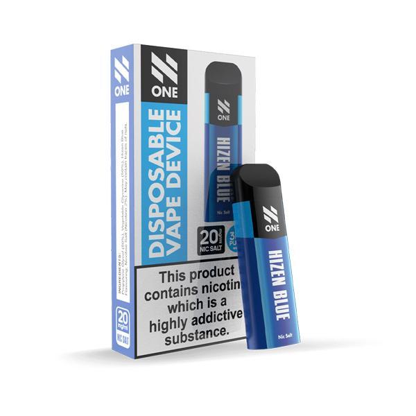 N One Disposable 20MG Nic Salt Vape Pod 3 for £10 - Disposable Vapes 2