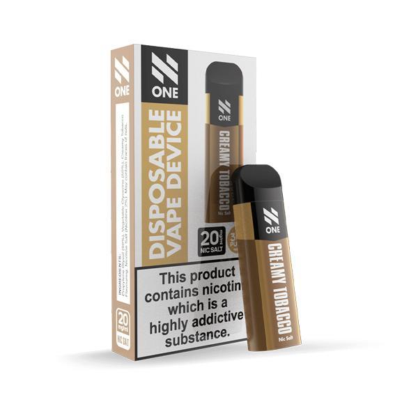 N One Disposable 20MG Nic Salt Vape Pod 3 for £10 - Disposable Vapes 3