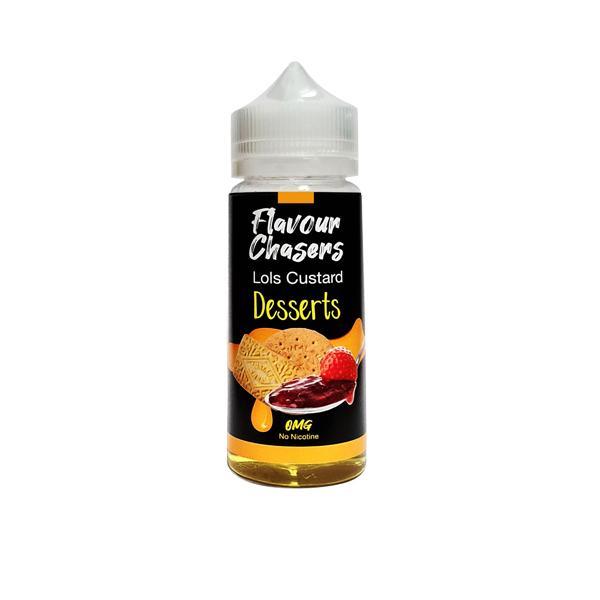 Desserts by Flavour Chasers 100ml Shortfill 0mg (70VG/30PG) 100ml Shortfills 3
