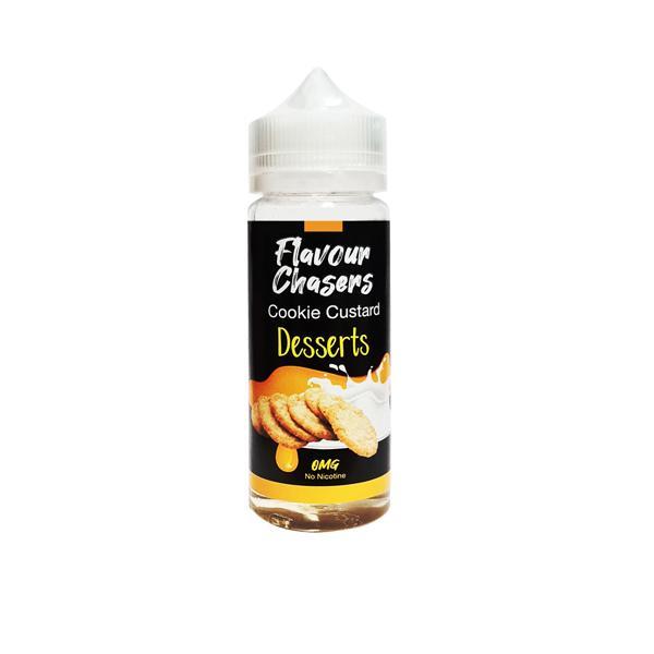Desserts by Flavour Chasers 100ml Shortfill 0mg (70VG/30PG) 100ml Shortfills 5