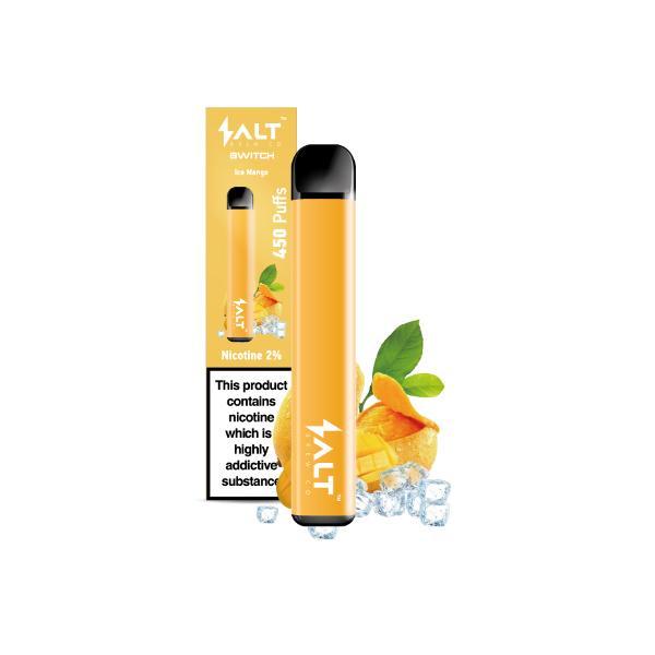 20mg SALT Switch Disposable Vape Pod 3 for £18 - Disposable Vapes 12