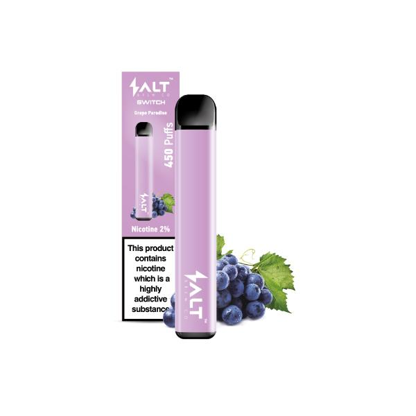20mg SALT Switch Disposable Vape Pod 3 for £18 - Disposable Vapes 7