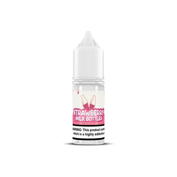 20MG Strawberry Nic Salts by Milk Bottles (50VG-50PG) Vaping Products 2