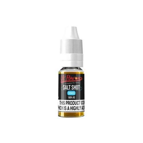 "<a href=""https://wvvapes.co.uk/uk-flavour-nic-salt-shot-18mg-10ml-100vg"">UK Flavour Nic Salt Shot 18mg 10ml (100VG)</a> E-liquids"