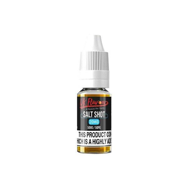 UK Flavour Nic Salt Shot 20mg 10ml (50VG-50PG) Vaping Products 2