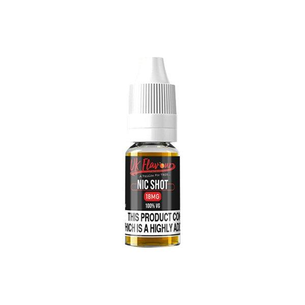 UK Flavour Nic Shot 18mg 10ml (100VG) Vaping Products 2