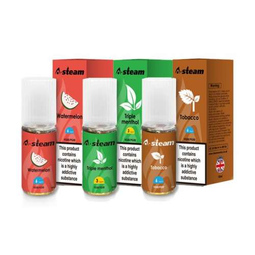 """<a href=""""https://wvvapes.co.uk/a-steam-fruit-flavours-12mg-10ml-50vg-50pg"""">A-Steam Fruit Flavours 12MG 10ML (50VG/50PG)</a> Vaping Products"""