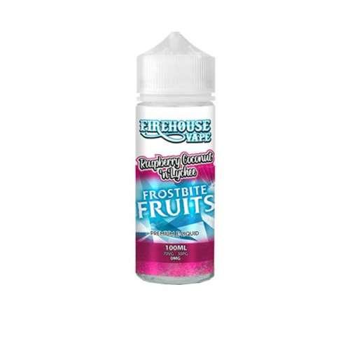 """<a href=""""https://wvvapes.co.uk/firehouse-vape-frostbite-fruits-100ml-shortfill-0mg-70vg-30pg"""">Firehouse Vape Frostbite Fruits 100ml Shortfill 0mg (70VG/30PG)</a> 100ml Shortfills"""