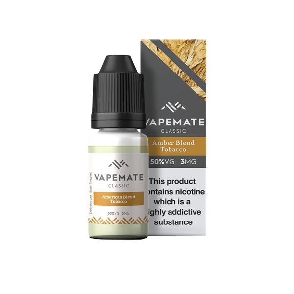 Vapemate Classic 3mg 10ml E-Liquid (70VG/30PG) Vaping Products 41