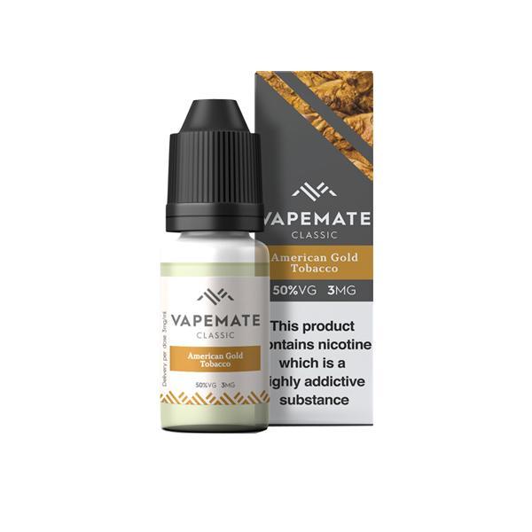 Vapemate Classic 3mg 10ml E-Liquid (70VG/30PG) Vaping Products 9