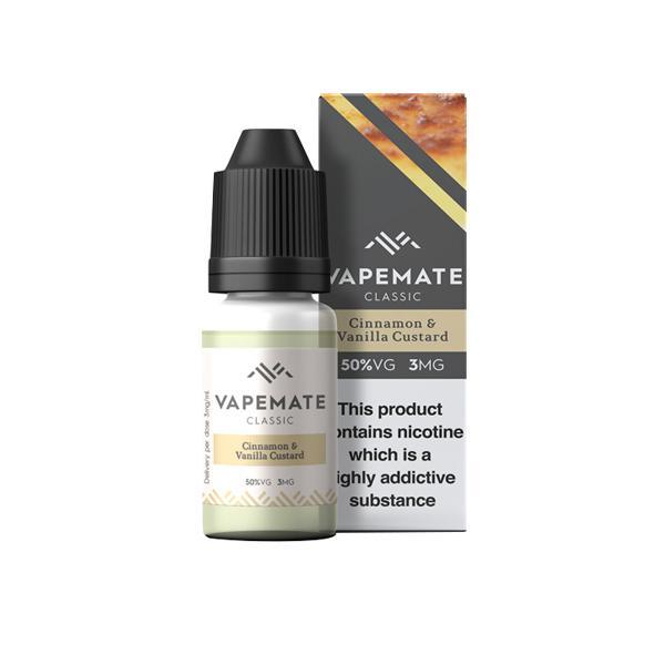 Vapemate Classic 3mg 10ml E-Liquid (70VG/30PG) Vaping Products 2
