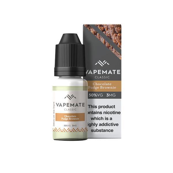Vapemate Classic 3mg 10ml E-Liquid (70VG/30PG) Vaping Products 50