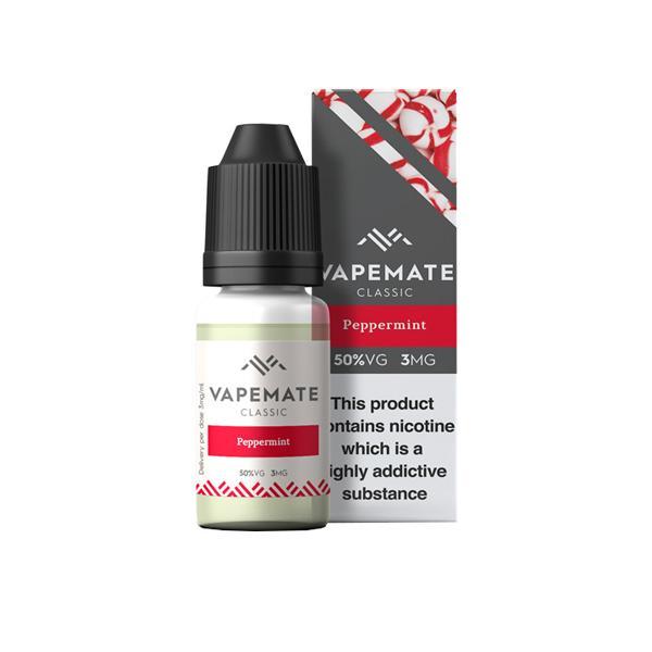 Vapemate Classic 3mg 10ml E-Liquid (70VG/30PG) Vaping Products 25