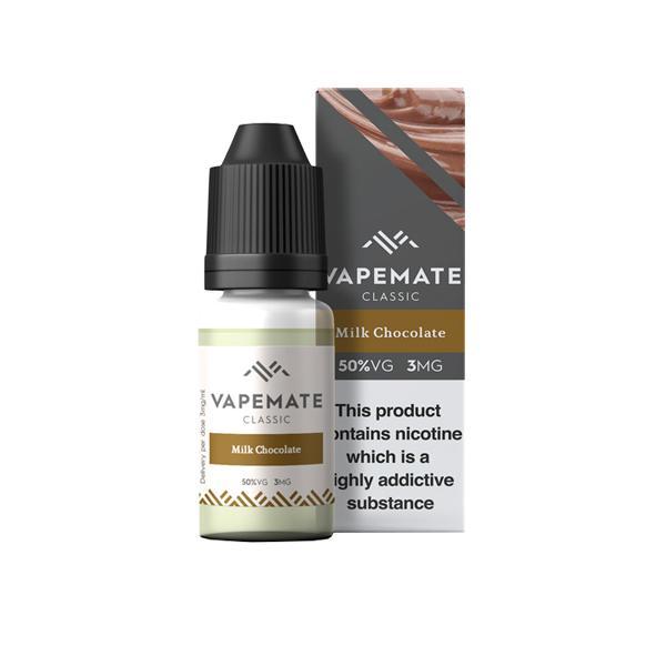 Vapemate Classic 3mg 10ml E-Liquid (70VG/30PG) Vaping Products 39